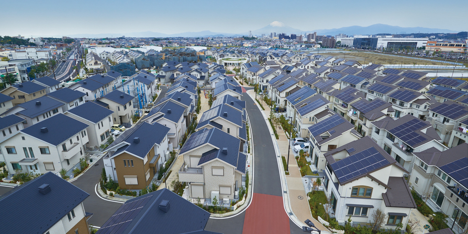 Japan S Solar City Eco Fortis Solar