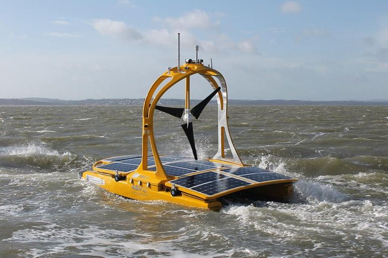 Autonomous catamaran begins studying the Celtic Sea